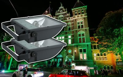 Uitlichten gebouwen